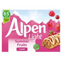 Alpen Light Summer Fruits 5 Pack