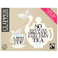 Clipper Tea Organic Earl Grey 80's