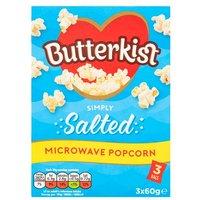 Butterkist Microwave Salted Popcorn 3 Pack