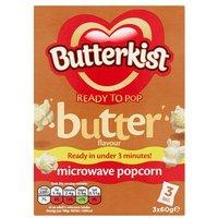 Butterkist Microwave Butter Popcorn 3 Pack
