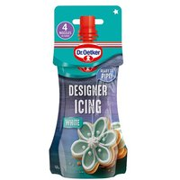 Dr. Oetker Designer Icing Pouch White