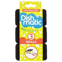Dishmatic Extra Heavy Duty Refill 3 Pack