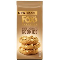 Foxs Chunkie Cookies White Chocolate
