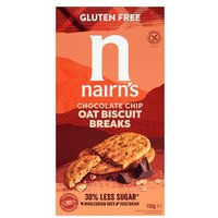 Nairns Gluten Free Biscuit Breaks Chocolate