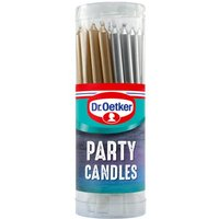 Dr. Oetker Party Candles 18 Pack