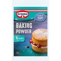 Dr. Oetker Baking Powder Gluten Free Sachets 6 x 5g
