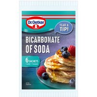 'Dr. Oetker Bicarbonate Of Soda Sachets 6 X 7g