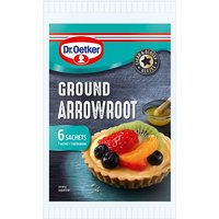 Dr. Oetker Ground Arrowroot Sachets 6 x 8g