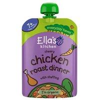 Ellas Kitchen 7 Months Cheery Chicken Roast Dinner