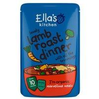 Ellas Kitchen 10 Months Lovely Lamb Roast Dinner