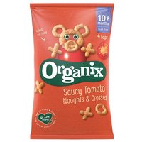 Organix 12 Month Tomato Saucy Noughts & Crosses 4 Pack