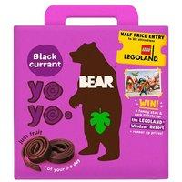 Bear Pure Fruit Yoyos Blackcurrant 5 Pack