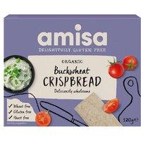 Amisa Organic Gluten Free Buckwheat Crispbread