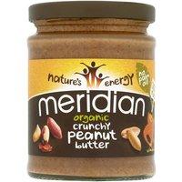 Meridian Organic Peanut Butter Crunchy No Salt