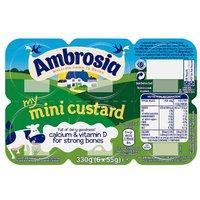 Ambrosia Custard Minis
