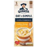 Quaker Oat So Simple Cuppa Porridge Golden Syrup