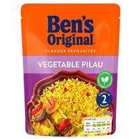 Uncle Bens Express Vegetable Pilau Rice