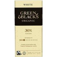 Green and Blacks Organic White Chocolate