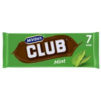 Mcvities Club Biscuits Mint 8 Pack