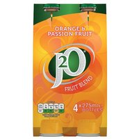 Britvic J2O Orange & Passionfruit 4 x 275ml