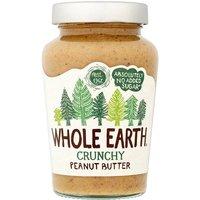 Whole Earth No Added Sugar Crunchy Peanut Butter
