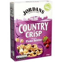 Jordans Country Crisp Luxury Raisins