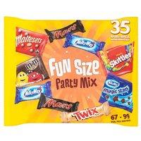 Mars Variety 35 Funsize Bars
