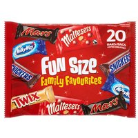 Mars Variety 20 Funsize Bars