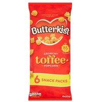 Butterkist Crunchy Toffee Popcorn 6 Pack