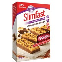 Slim Fast Chocolate Crunch Bars 4 x 60g