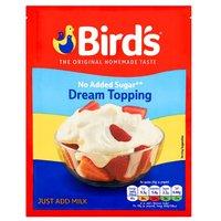 Birds Dream Topping No Added Sugar