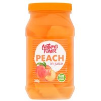 Natures Finest Peach Slices in Juice