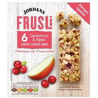 Jordans Frusli Bars Cranberry and Apple