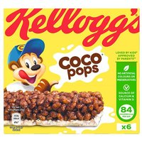 Kelloggs Coco Pops Cereal Bars 6 Pack