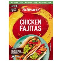 Schwartz Authentic Chicken Fajitas Mix