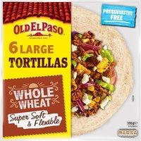 Old El Paso Whole Wheat Tortilla Wraps