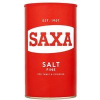 Saxa Table Salt Drum