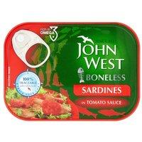 John West Boneless Sardines Tomato Sauce
