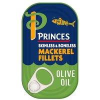 Princes Mackerel Fillet Olive Oil
