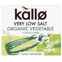 Kallo Organic Low Salt Vegetable Stock Cubes