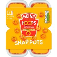 Heinz Spaghetti Hoops Snap Pots