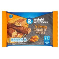 Weight Watchers Chewy Caramel Wafers 5 Pack