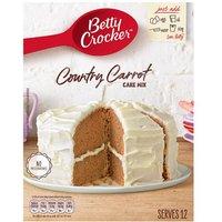 Betty Crocker Carrot Cake Mix