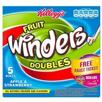 Kelloggs Fruit Winders Strawberry and Apple 6 Pack