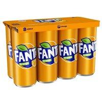 Fanta Orange 8 x 330ml