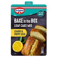 Dr. Oetker Bake In The Box Lemon & Poppyseed