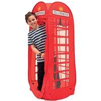 Pop Up Telephone Box Play Tent