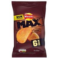 Walkers Max Flame Grilled Steak 6 Pack