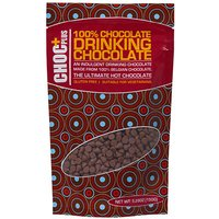 Choc Plus 100% Drinking Chocolate Pouch Pink Polka Dot