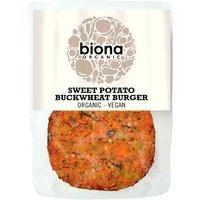 Biona Organic Sweet Potato Buckwheat Burger